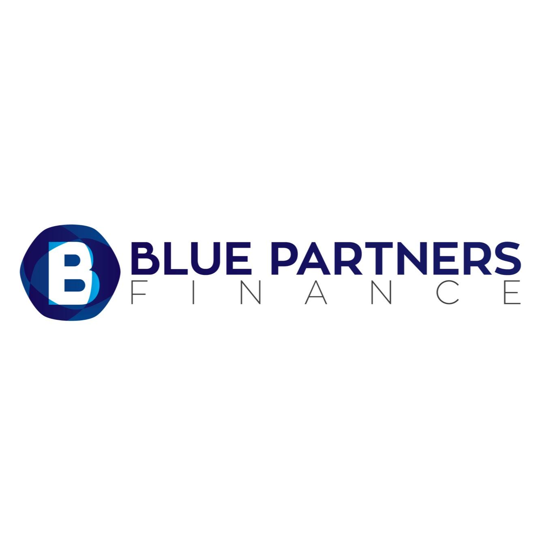 the Blue Partners Finance logo.