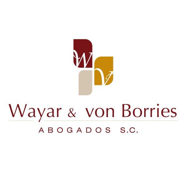 the Wayar & Von Borries Abogados logo.
