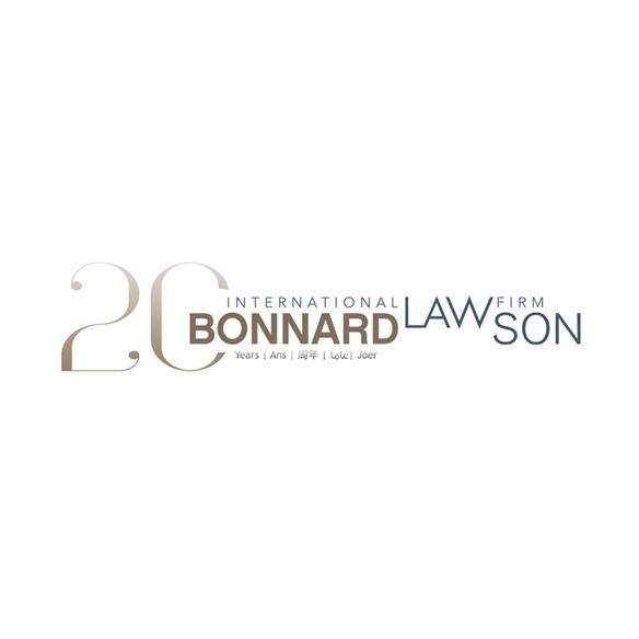 the Bonnard Lawson logo.