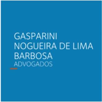 the Gasparini, Nogueira De Lima E Barbosa Advogados logo.