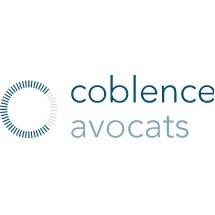 the Coblence Avocats logo.