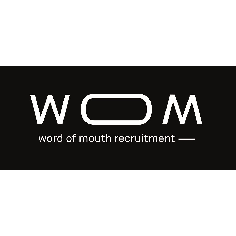 the Wom Recrutement logo.