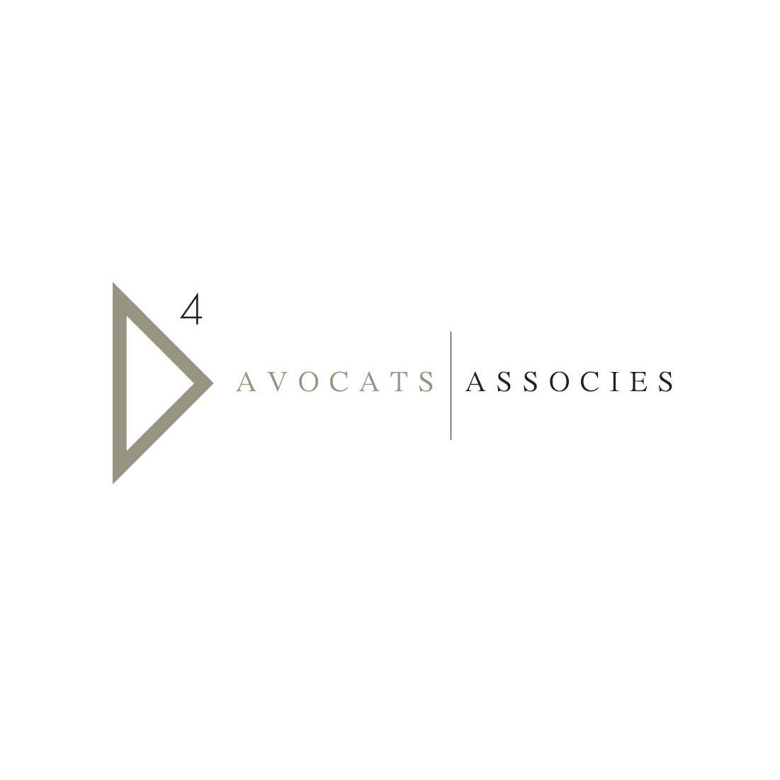 the D4 Avocats Associes logo.