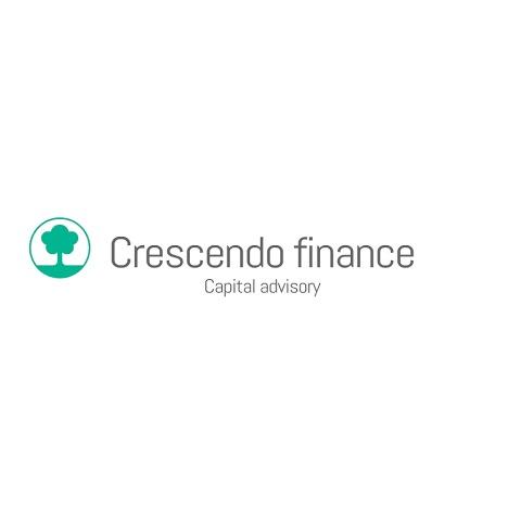 the Crescendo Finance logo.