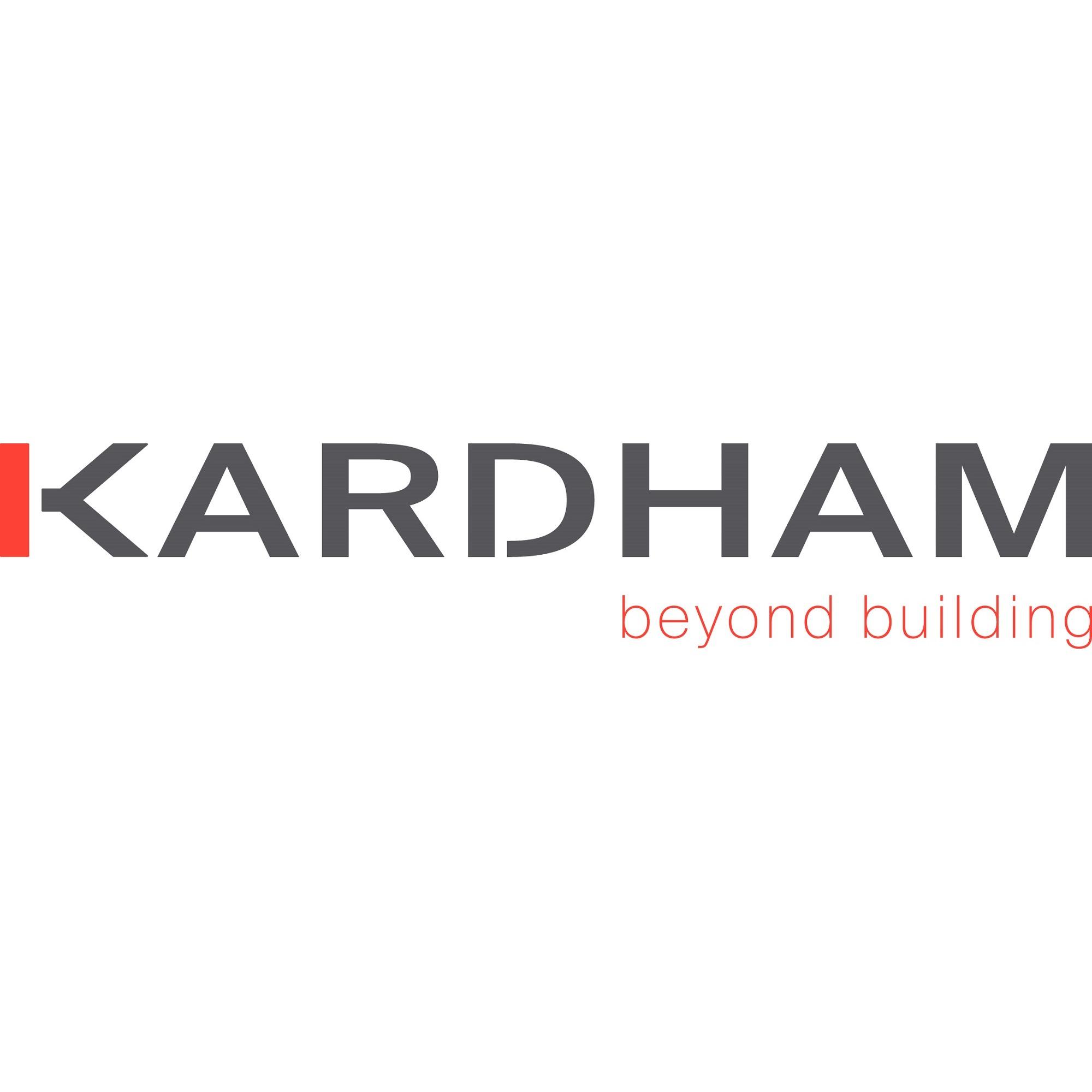 the Kardham logo.