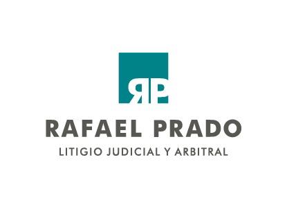 the Rafael Prado Litigio Judicial & Arbitral logo.
