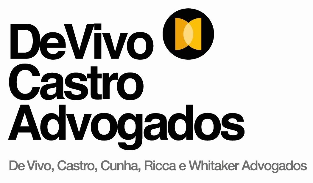 the De Vivo, Castro, Cunha E Whitaker Advogados logo.