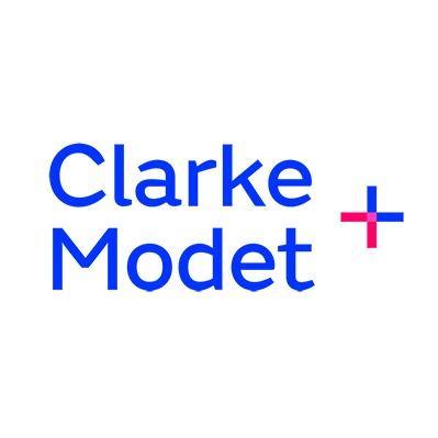 the ClarkeModet logo.
