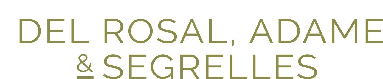 the Del Rosal & Adame & Segrelles logo.