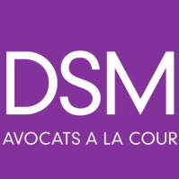 the Dsm Avocats À La Cour logo.