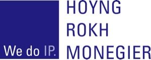 the Hoyng Rokh Monegier logo.
