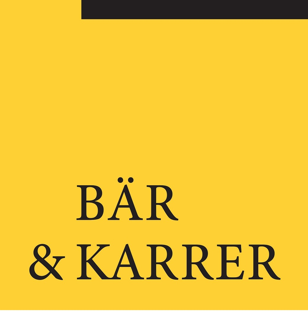 the Bär & Karrer logo.