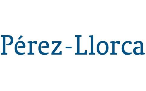 the Pérez-Llorca logo.