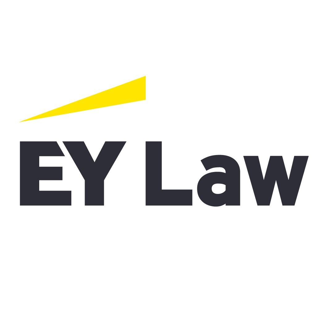 the EY Law logo.