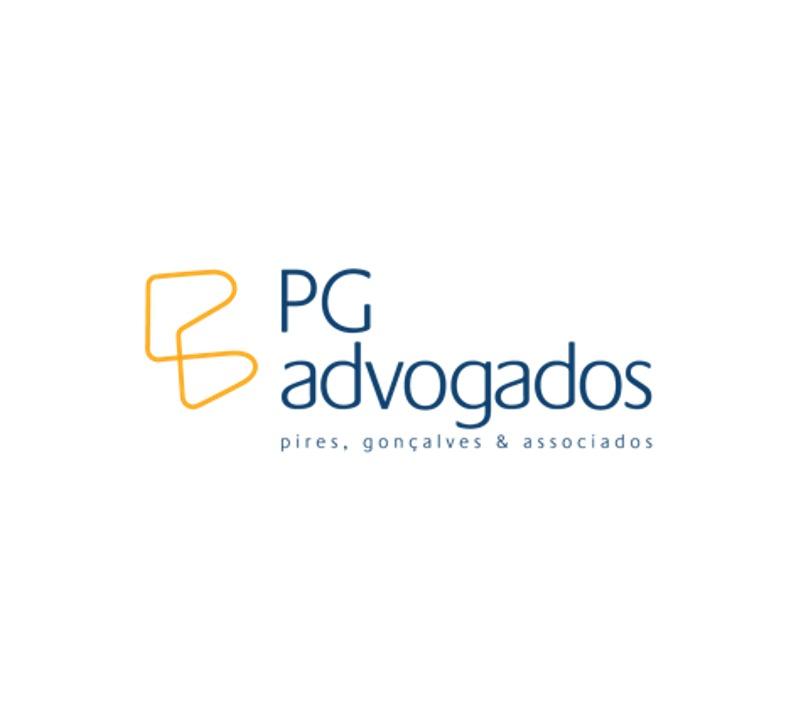 the PG Advogados logo.
