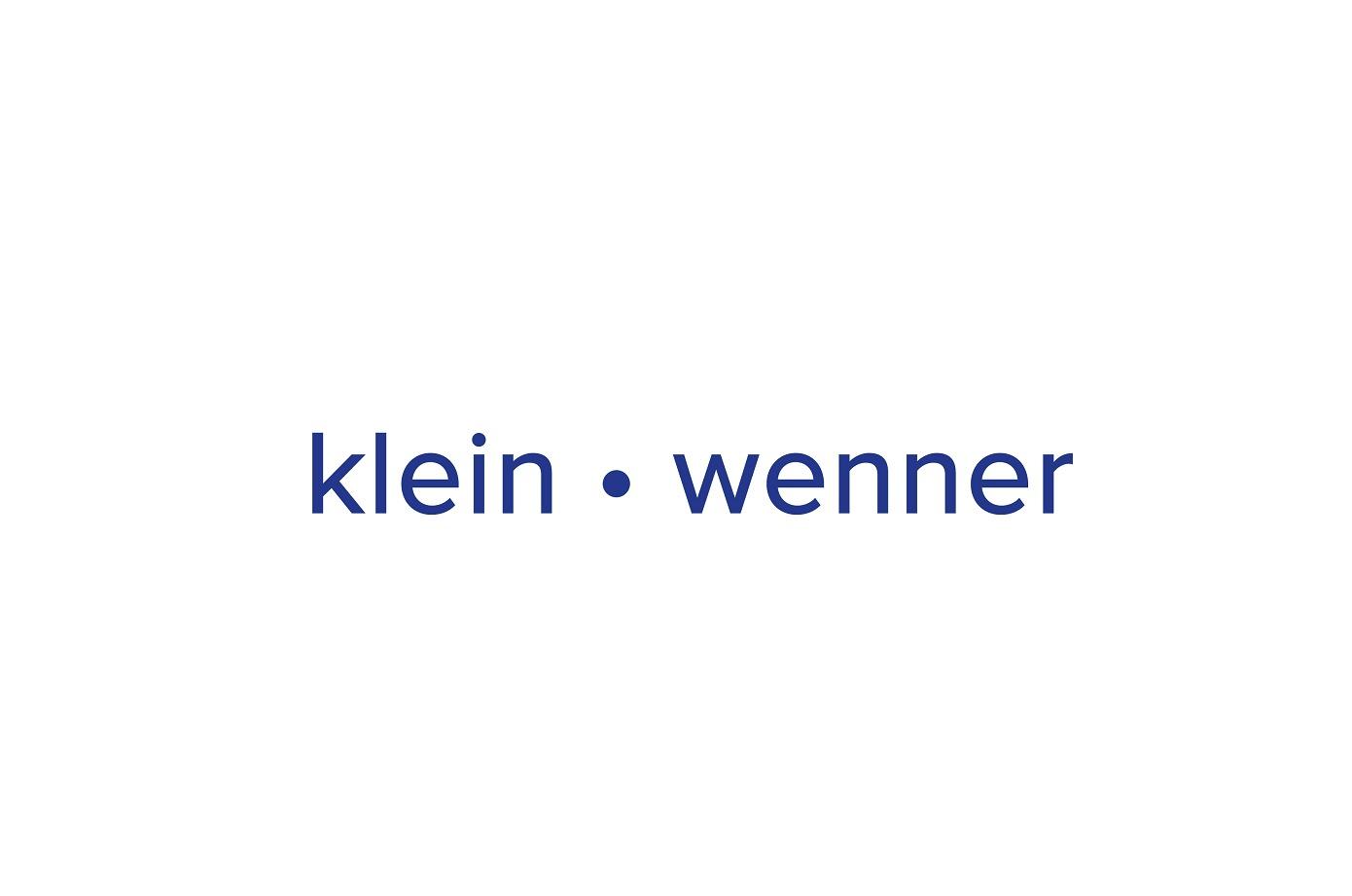 the Klein - Wenner logo.