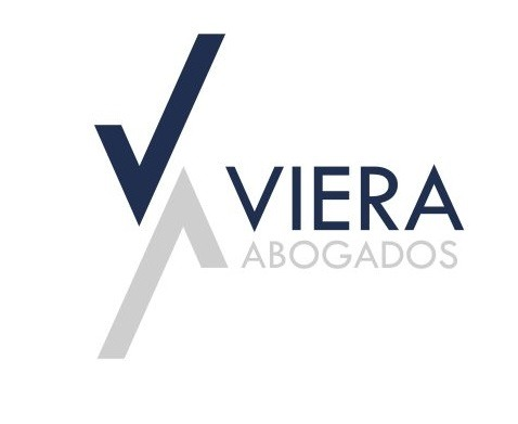 the Viera Abogados logo.