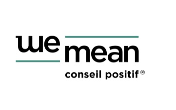 the Wemean logo.
