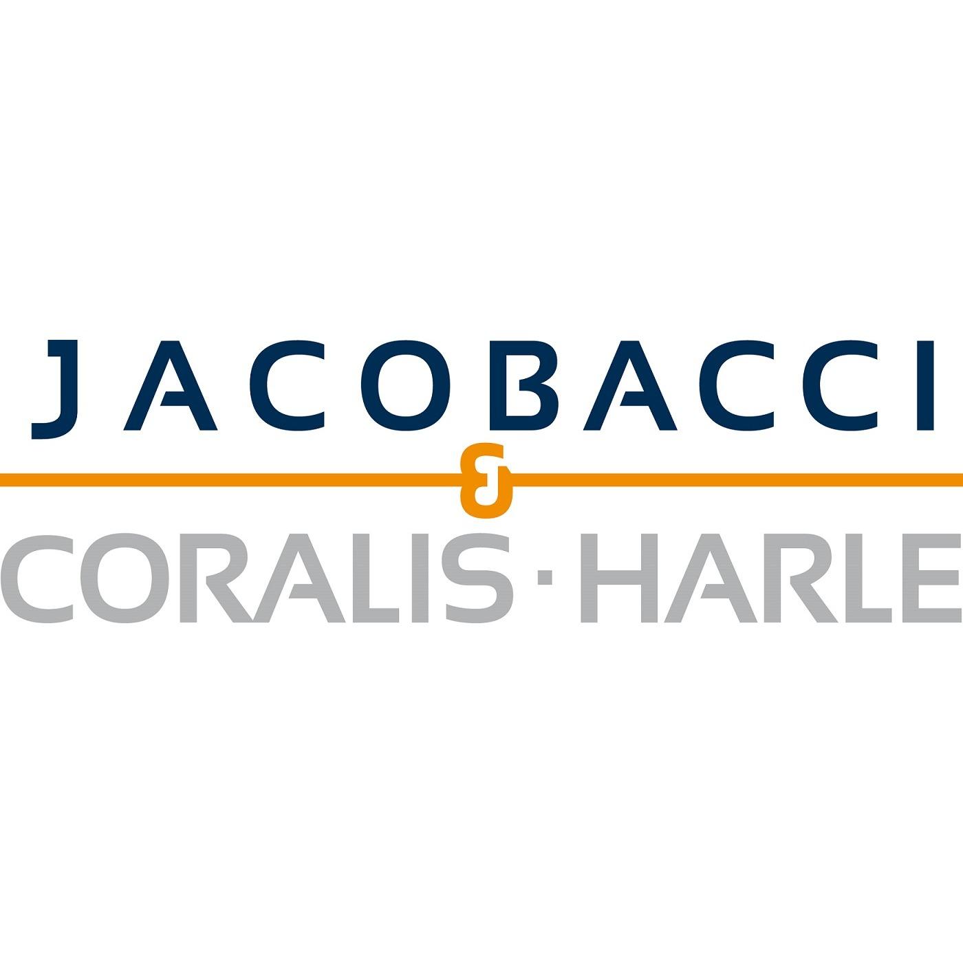 the Jacobacci Coralis Harle logo.