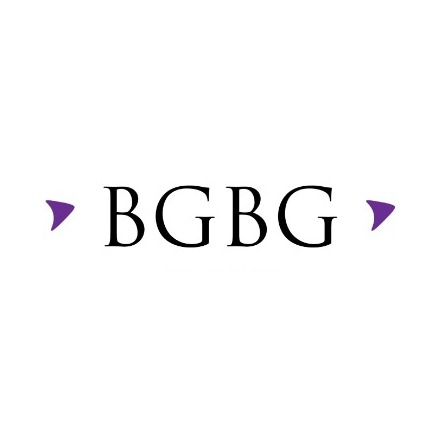 the BGBG Abogados logo.