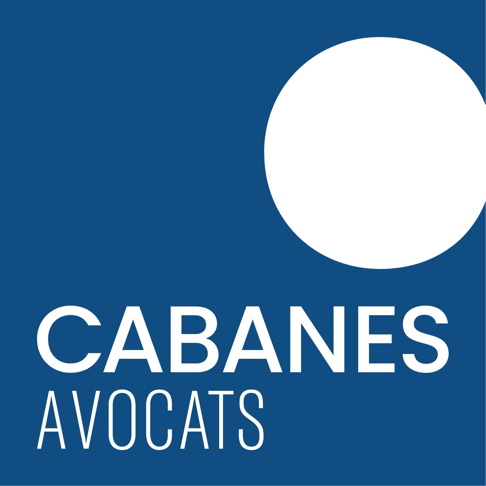 the Cabanes Avocats logo.
