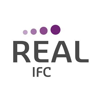 the Real I.F.C. logo.