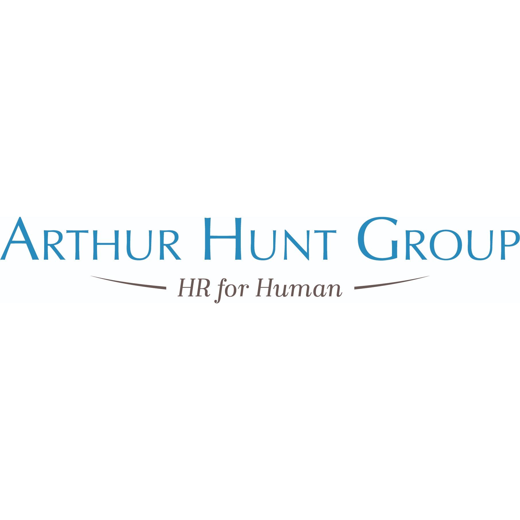 the Arthur Hunt logo.