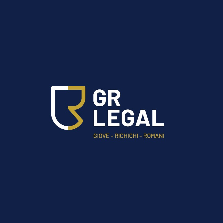 the GR Legal  logo.