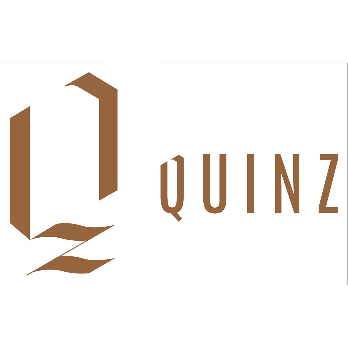 the Quinz logo.