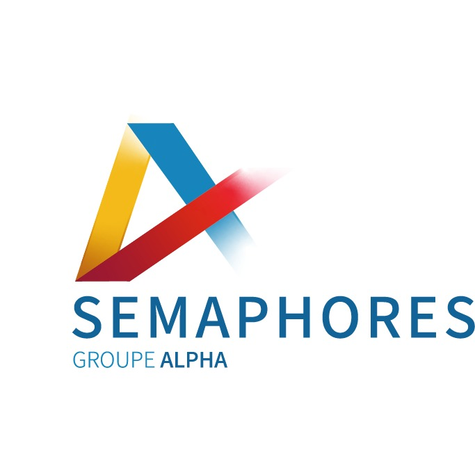 the Sémaphores logo.