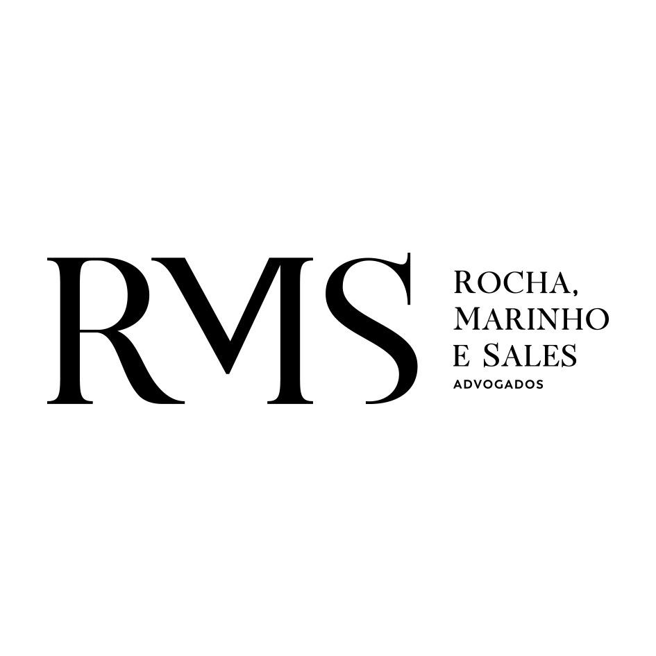 the RMS Advogados - Rocha, Marinho e Sales Advogados logo.