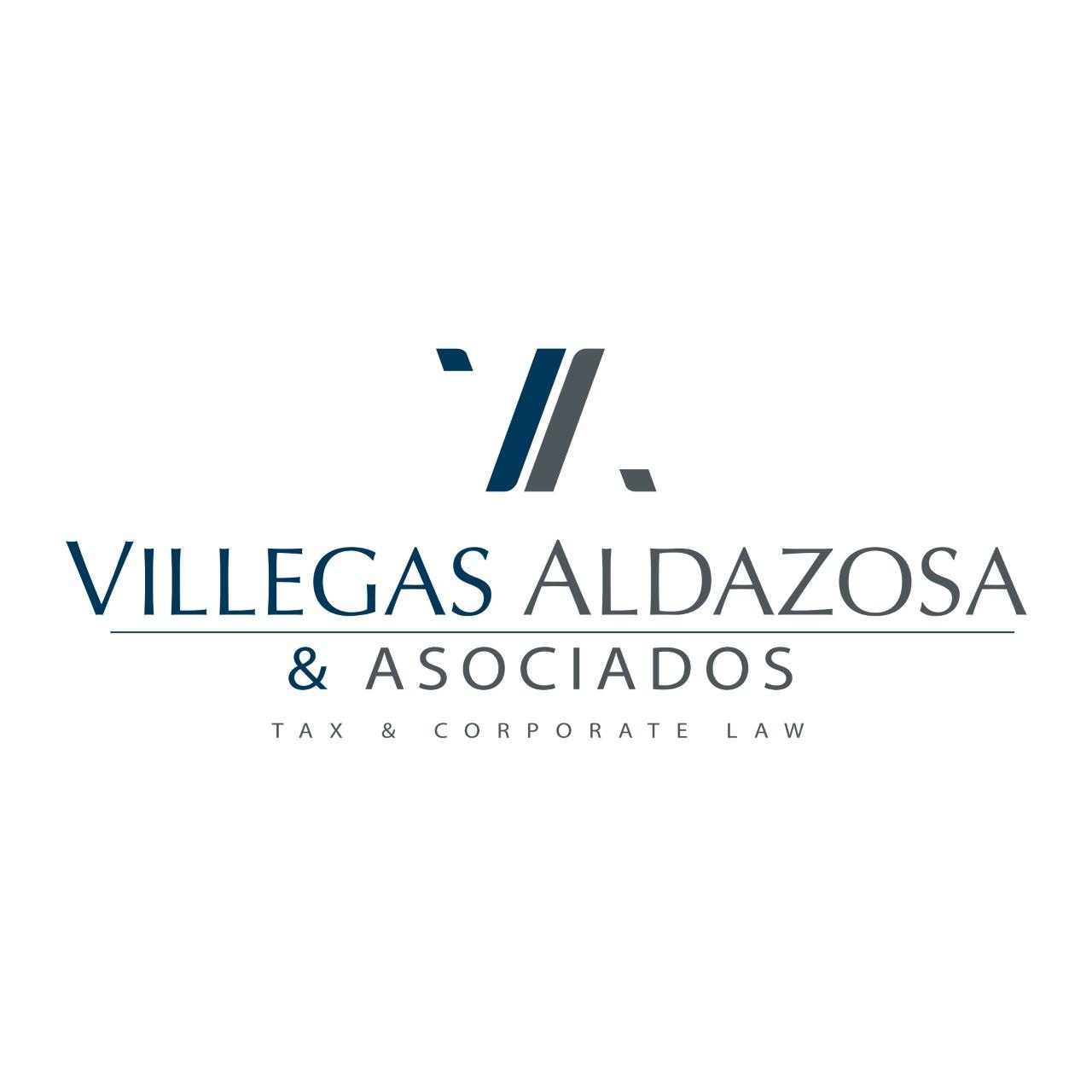 the Villegas Aldazosa & Asociados Soc. Civ. logo.