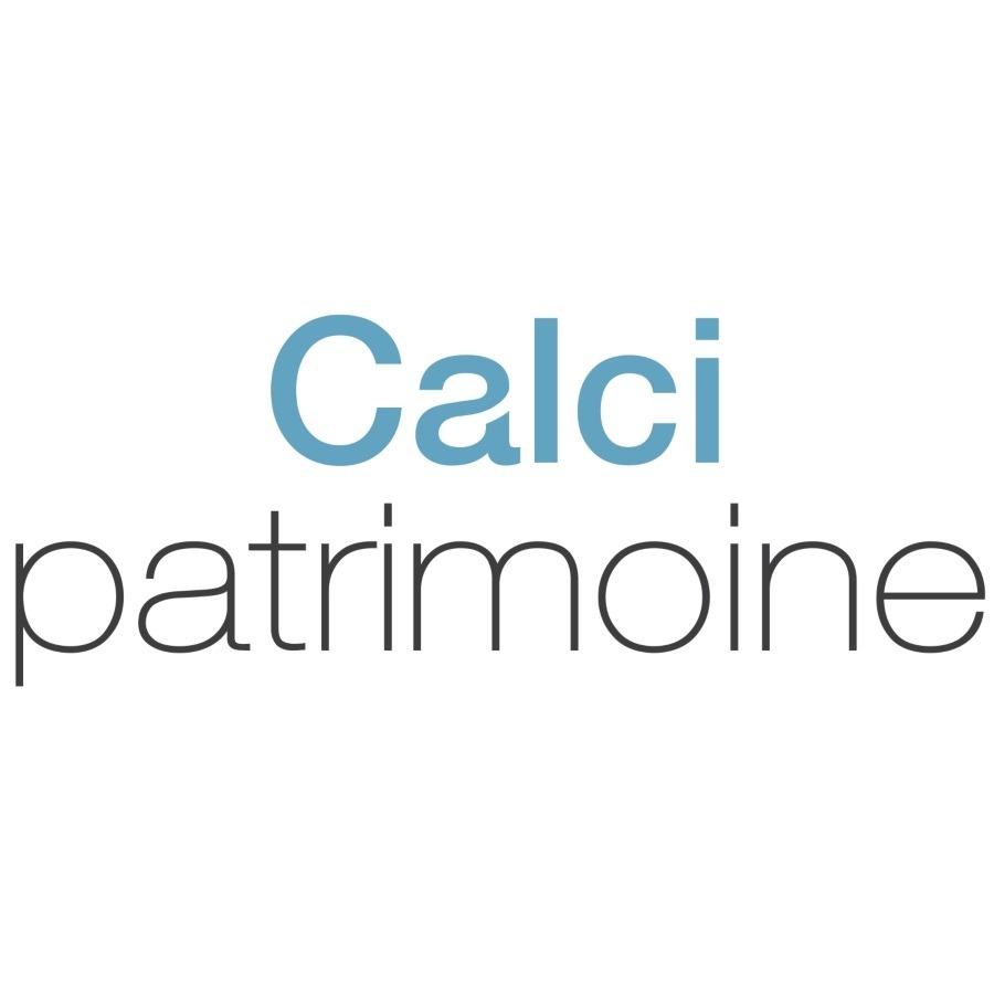 the Calci patrimoine logo.