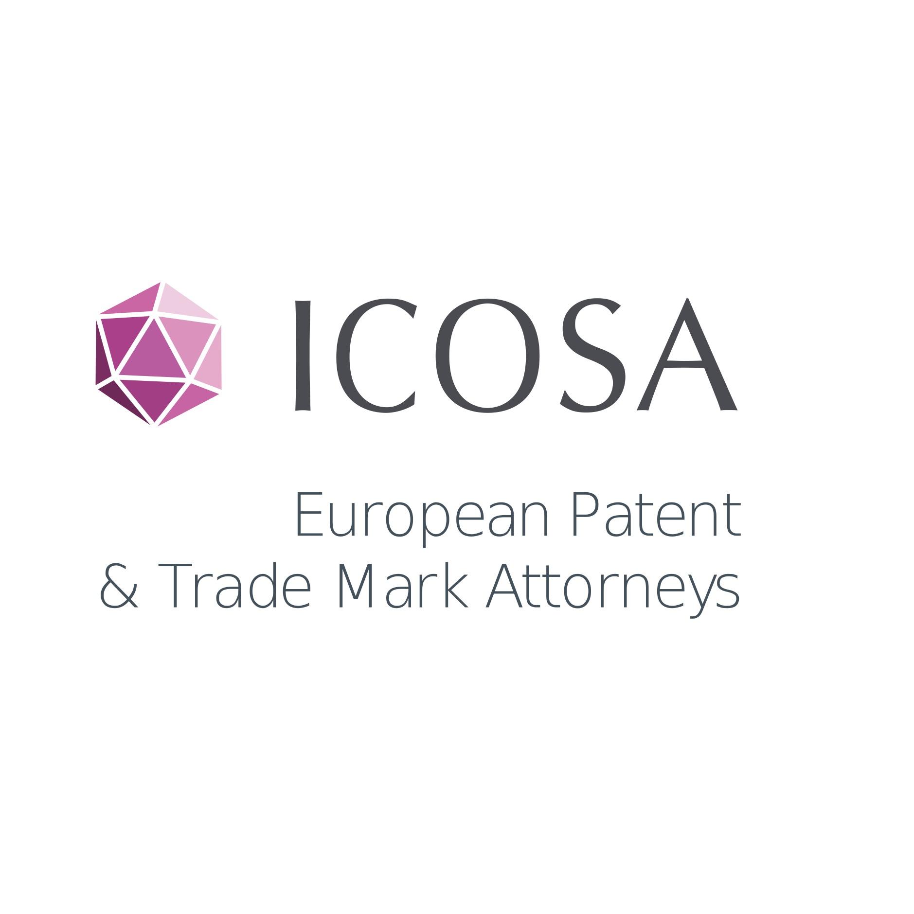 the ICOSA logo.