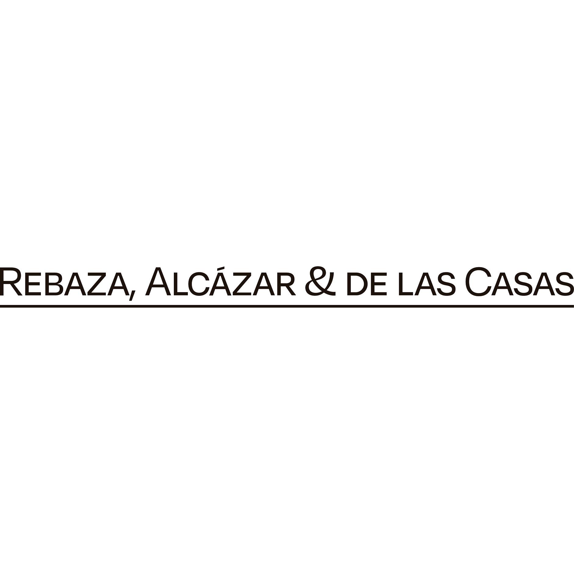 the Rebaza, Alcázar & De Las Casas logo.