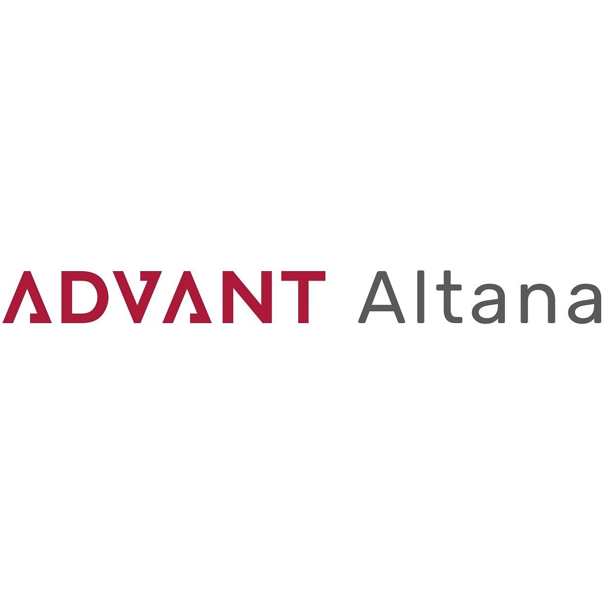 the Advant Altana logo.