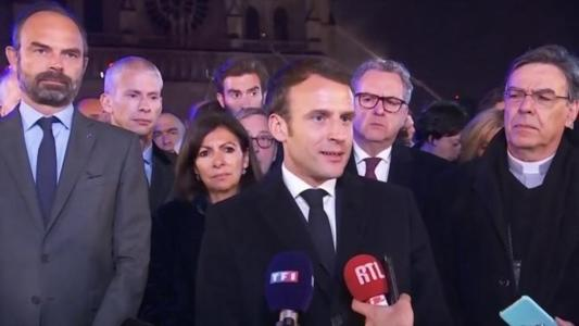 The French public were expecting to hear from their president last night, but not like this. President Macron was scheduled to give a national address to announce the first concrete measures arising out of the Grand Débat, a period of public consultation following the yellow vest protests last winter. Instead spoke to the French people live from Notre Dame, as fire-fighters battled to save the 800 year-old gothic cathedral from being completely destroyed.
