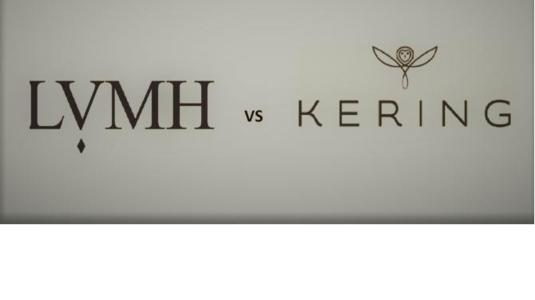 LVMH and Kering dominate the global luxury goods market. But which of the two groups is the more powerful? It's time for a walk off!