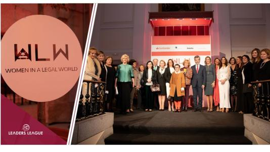 The recently created Women in a Legal World (WLW) organization held its first annual award ceremony on Wednesday, October 30th at the Circulo de Bellas Artes in Madrid.