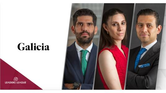 Three new partner appointments have been made at Galicia, effective January 1st. Ernesto Partida, Mario Valencia and Denise Lester.