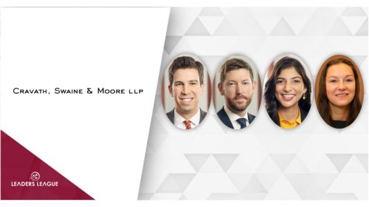 What does it take to become partner at one of the world's most prestigious firms? To tie in with the launch of our 2020 Litigation guides, we asked four new litigation partners at Cravath, Swaine & Moore about their work at the firm, their general experience, and their advice for up-and-coming lawyers.