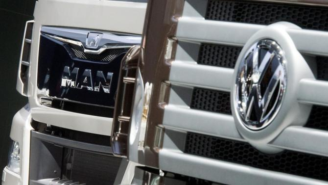 Volkswagen aligns MAN, Scania truck brands in new holding