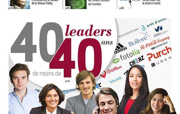 Pour la troisième édition de son « 40/40 », le magazine Décideurs vous propose de découvrir quarante portraits de  leaders de moins de 40 ans.
