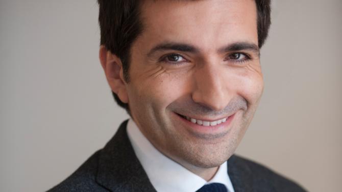 Portrait d'Olivier Abergel, 40 ans, fondateur du cabinet d'avocats LL Berg.
