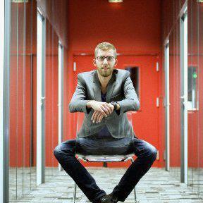 Portrait de Richard Ollier, 35 ans, P-DG et fondateur de Giroptic.