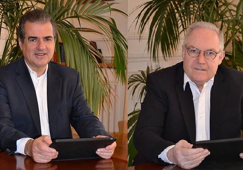 Deux avocats indépendants, l'un à Paris, l'autre à Genève, deviennent partenaires sur le net.