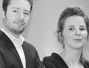 Deux avocats lyonnais, Raphaël Cottin et Julie Le Goff, se sont associés afin de créer Pomelaw, un cabinet d'avocats entièrement digitalisé.