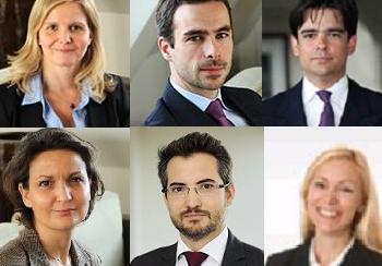 Six avocats sont nommés associés du géant français, cinq à Paris et un à New York.