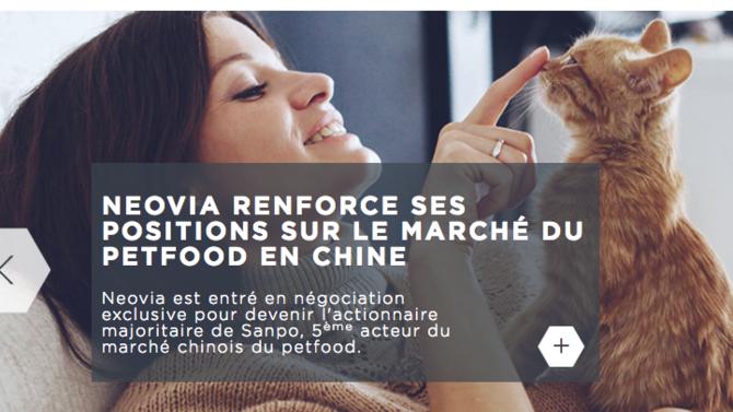 La filiale d'InVivo compte profiter d'un marché en plein boom depuis que les Chinois ne sont plus taxés pour détention d'animaux de compagnie.