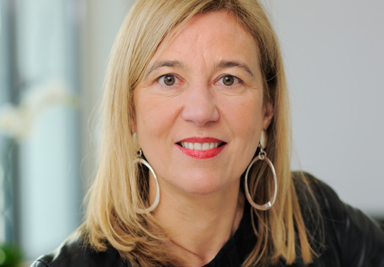 Marie-Aimée de Dampierre, une avocate de la famille des patrons.
